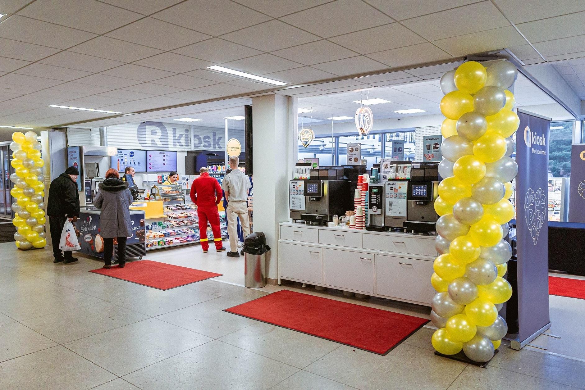 R-Kiosk avas Põhja-Eesti Regionaalhaiglas väikepoe