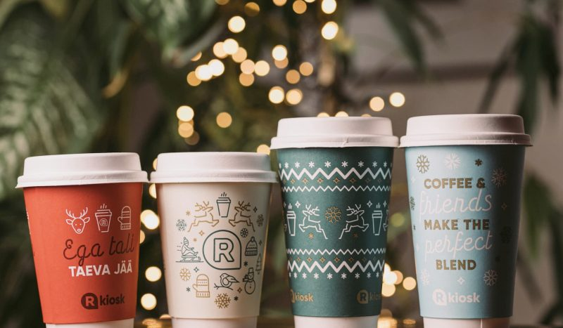 R-Kiosk võttis kasutusele 100% taimset päritolu kohvitopsid ja kaaned