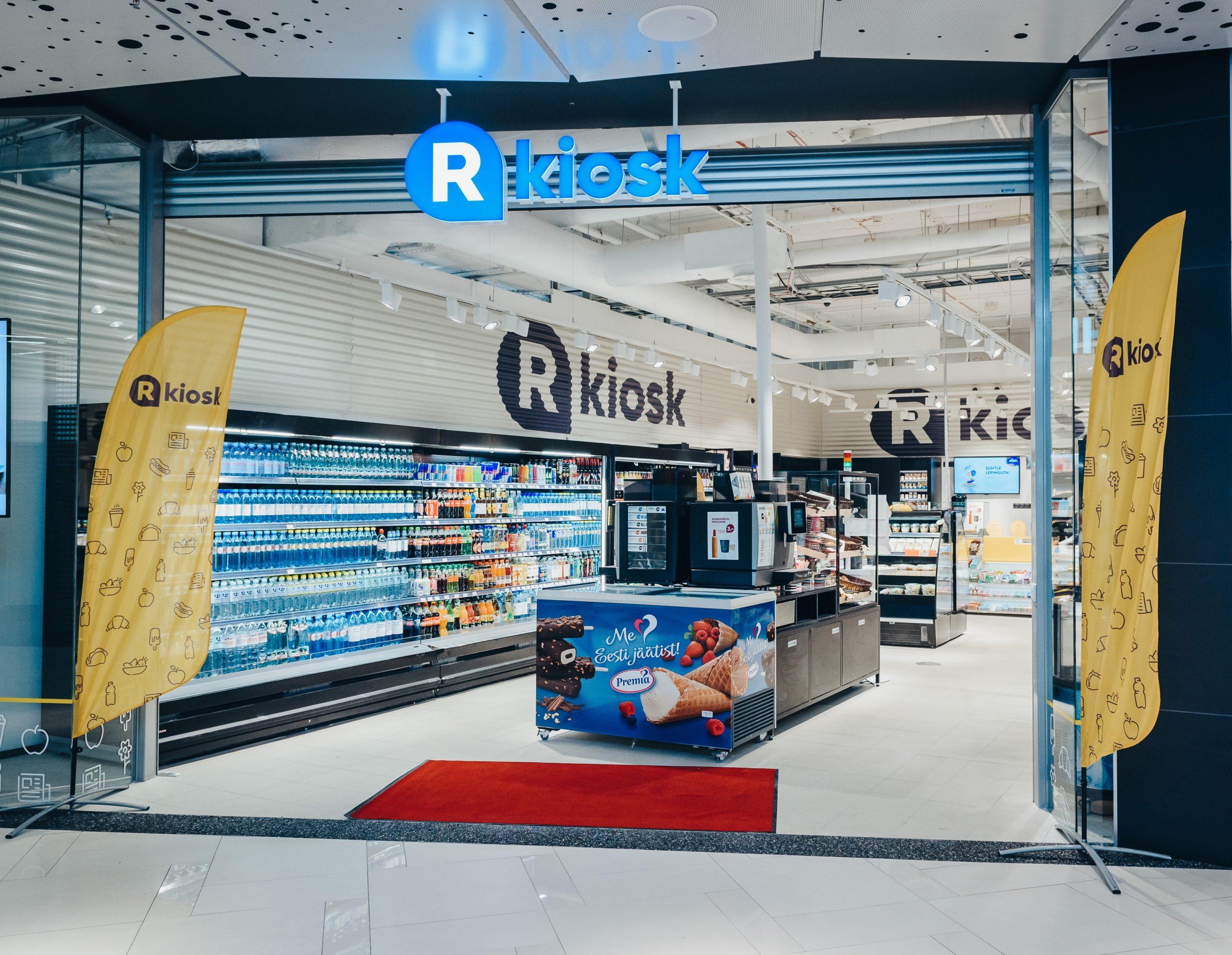 R-Kioski emafirma pälvis teist aastat järjest Balti- ja Põhjamaade parima mugavuspoe tiitli