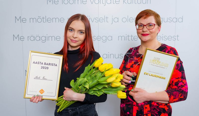Aasta frantsiisipidaja on Evi Laurimann ja barista Heidi Õun